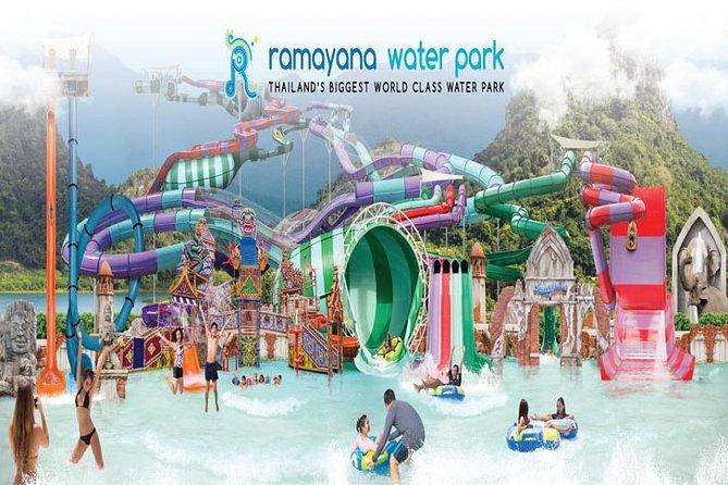 PATTAYA: RAMAYANA Water Park Thailand (Ticket + Lunch + Transfer)