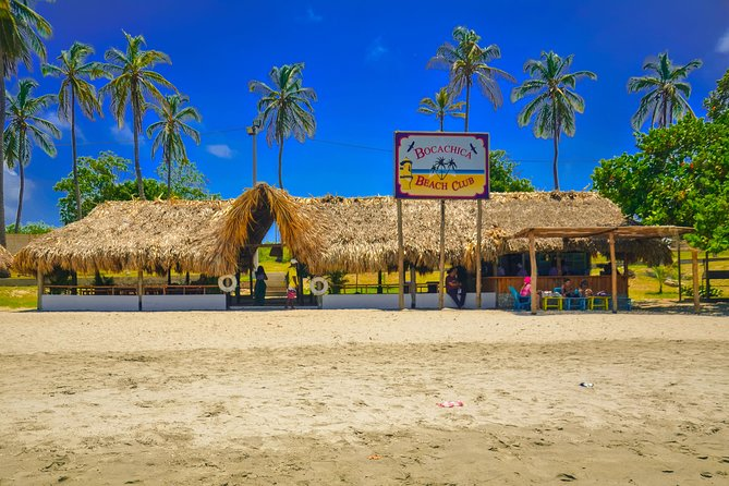 Day at Bocachica Beach Club - with tour of Fort San Fernando
