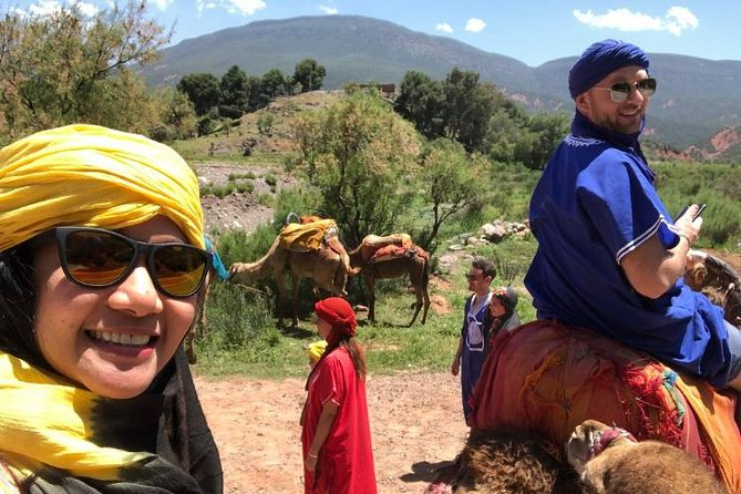 Desert Agafay & Atlas Mountains & Waterfalls & Valleys: Day Trip from Marrakech