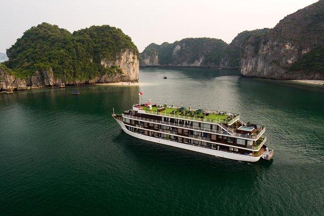 2-Day Doris Cruise with swimming pool visit Lan Ha Bay discovering and kayaking