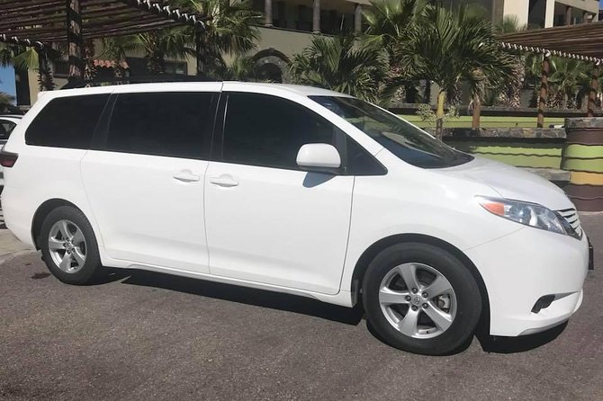 Round trip transportation from Airport to Pacific Cabo San Lucas