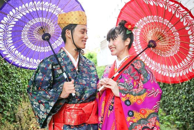 "Traditional Okinawan costume ""Ryuso"" photo shooting course"