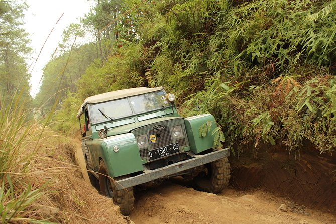 South Bandung Off Road Tour: Land Rover Fun Track in Ciwidey
