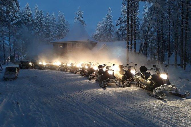 Night Snowmobile Safari in Rovaniemi