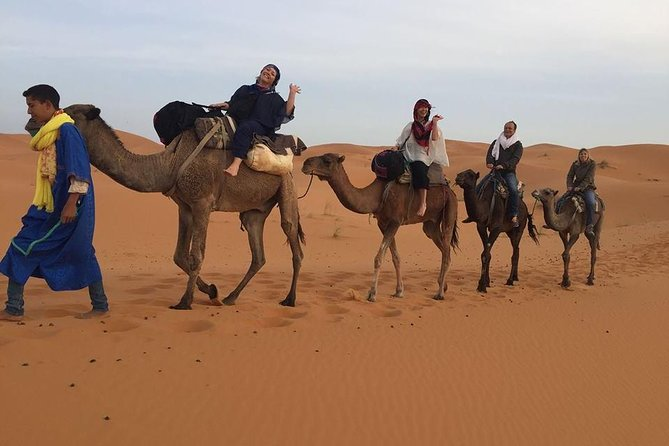Merzouga luxury camp desert