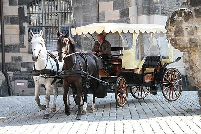 Dresden Historic Walking Tour & Treasury Visiting