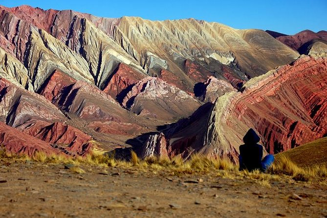 Hornocal, 14 colors mountain, trough Humahuaca´s gorge