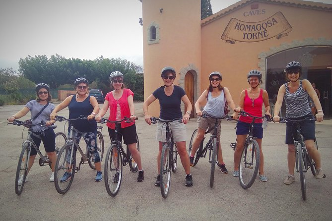 Cycling for Vino Bike Ride from Sitges, Barcelona with hotel pick up.