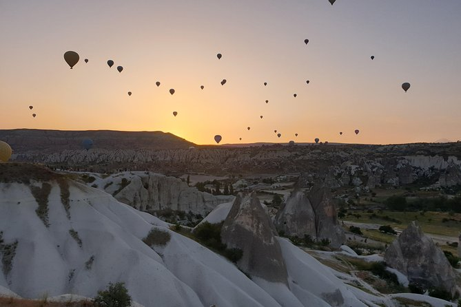 Have you ever seen the balloon fest between sunrise in Cappadocia?