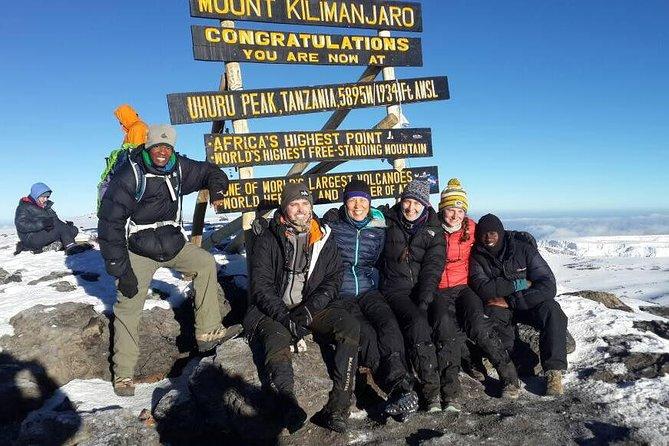 Kilimanjaro climbing 8 day Lemosho route