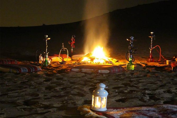 Overnight Desert Safari Abu Dhabi with Private Tent and Hot BBQ Dinner