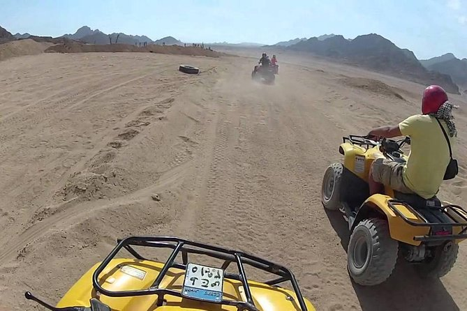 Quad Bike and Camel Ride Tour with Dinner from Sharm El Sheikh