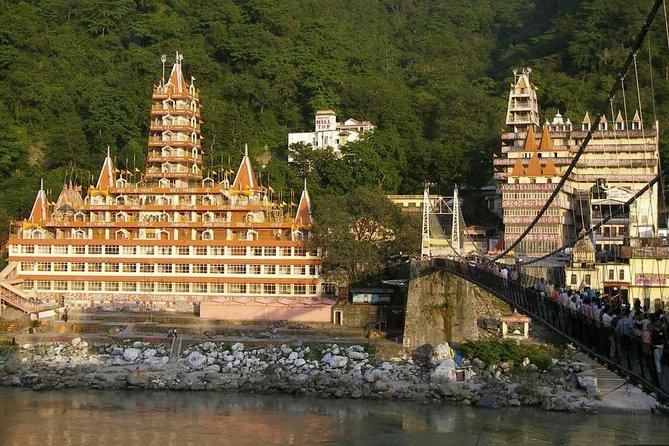 Rishikesh Temples, Ashram, Aarti Ceremony & Food Experience
