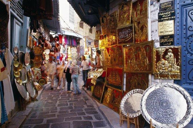 Picturesque Village Of Sidi Bou Said + Tunis Old Medina