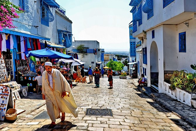Picturesque Village Of Sidi Bou Said + Tunis Old Medina photo 3