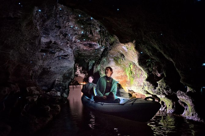 Sunset Kayak Glow Worm Cave Tour