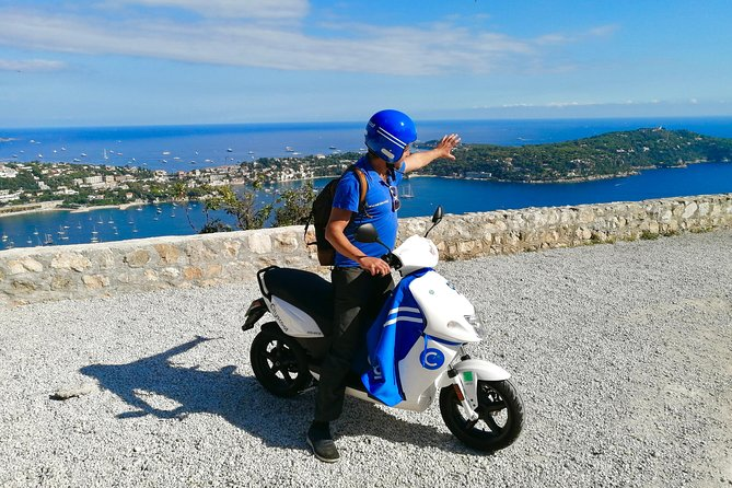 Coastal Riviera & Eagle Nest Villages Scooter Day Tour with Tasting from Nice