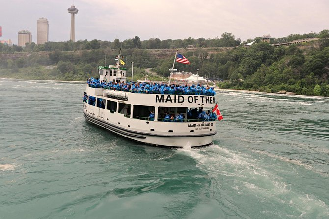 Guided Tour Niagara Falls America Side Boat Ride And Cave Of Wind