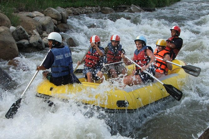 ATV, Rafting and Ziplining Adventure from Phuket