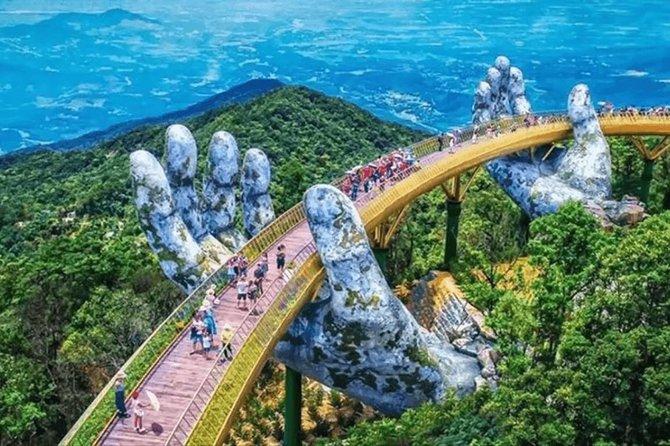 Golden Bridge Private Shore Excursion from Da Nang (Tien Sa), Vietnam