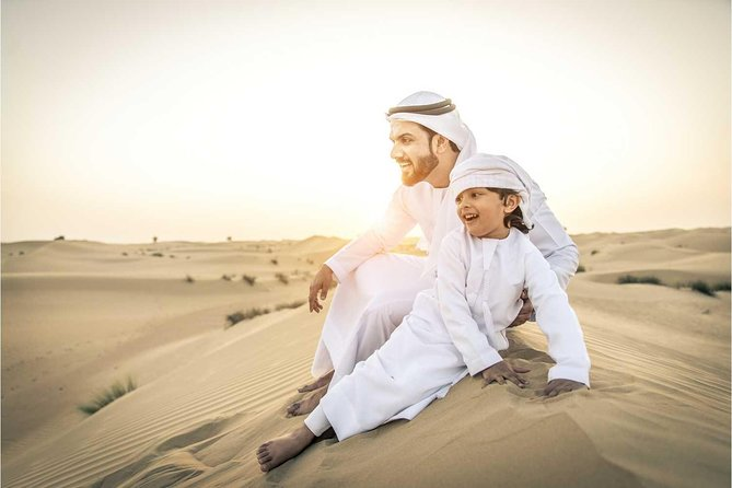 Dubai desert safari in the morning | MyHolidaysAdventures