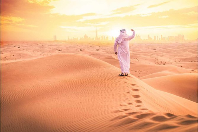 Dubai: Desert Safari at Sunrise with Camel Ride | MyHolidaysAdventures