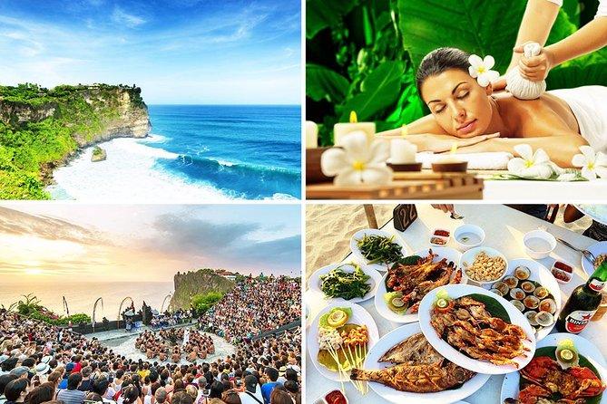 Bali Spa and Uluwatu Sunset Tour