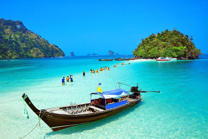Krabi 4 Islands by Big Boat and Speedboat from Phuket