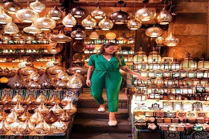 Private Pharaonic Village and shopping tour in Khan EL Khalili