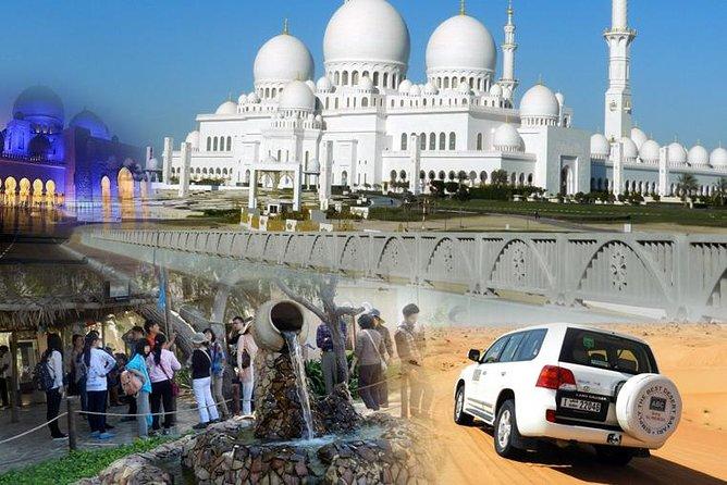 Abu Dhabi city tour and Desert Safari Dubai combo