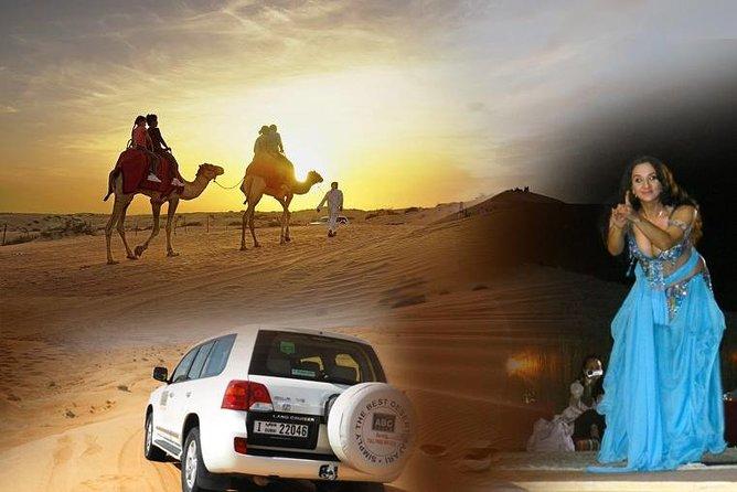 Dubai Desert Safari ALL INCLUSIVE, Camel ride, ATV Quadbike, Sandboarding, BBQ
