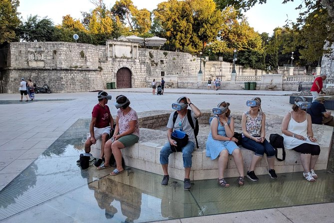Zadar Walking Tour with Virtual Reality Experience