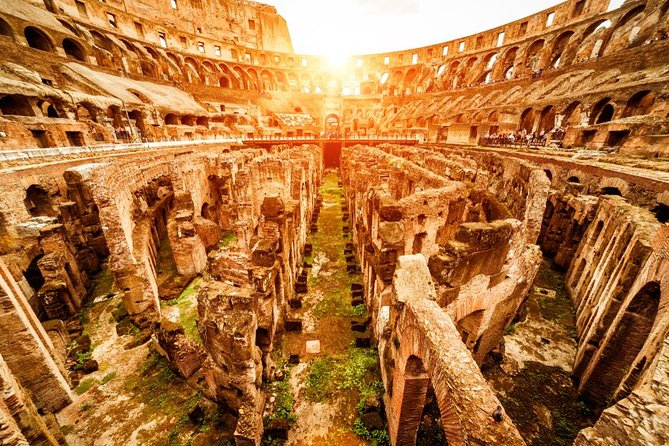 VIP Semi-Private Colosseum Underground and Ancient Rome Tour