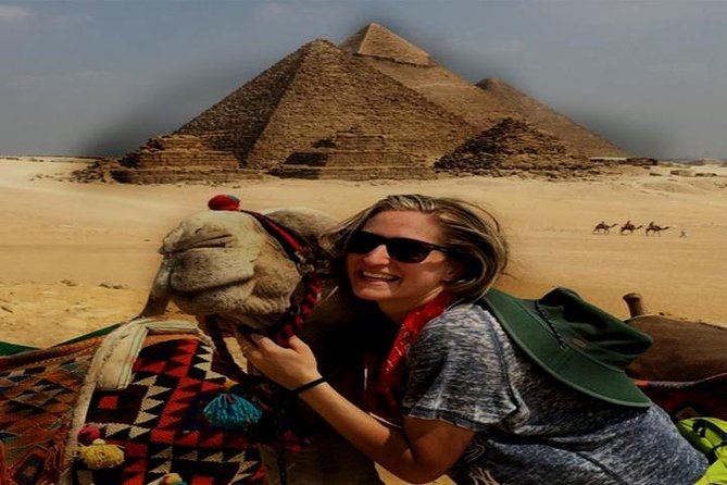Cairo Stopover Tour From Cairo Airport Including Camel Ride