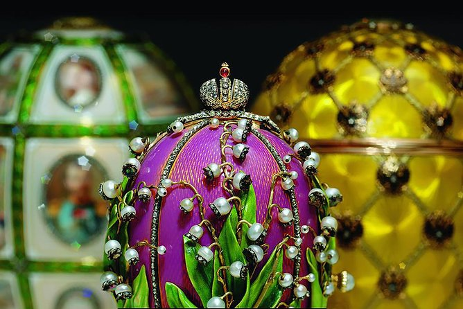 Small Group Visa Free St. Petersburg 2-day Royal Tour (incl. Faberge Museum)