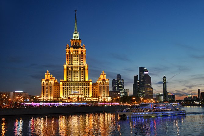 Night lights Moscow Cruise (with Dinner option)
