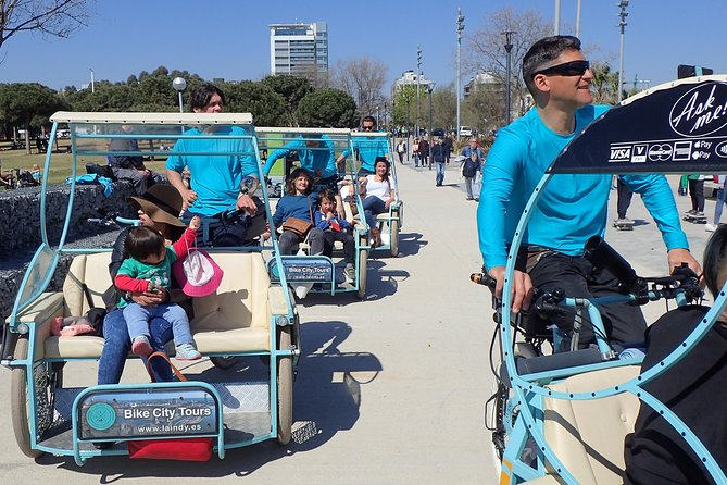Rickshaw tour Barcelona
