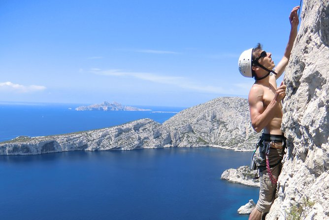 Multi-pitch in the Calanques