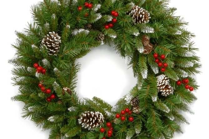 Wreath making in Olean, NY photo 1