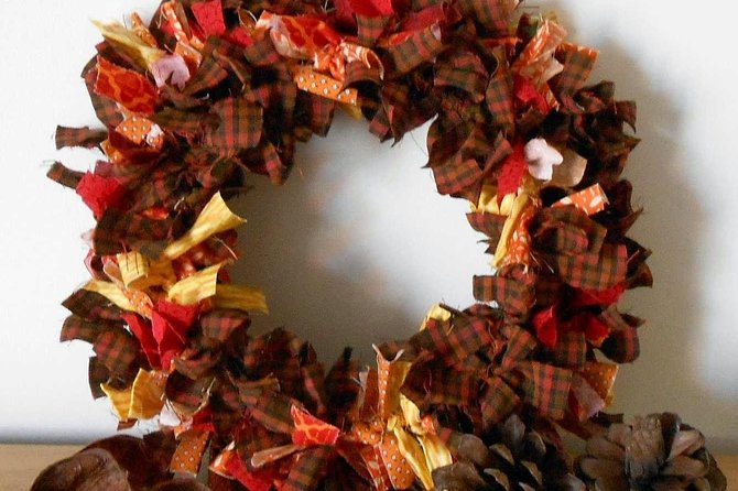 Wreath making in Olean, NY photo 6