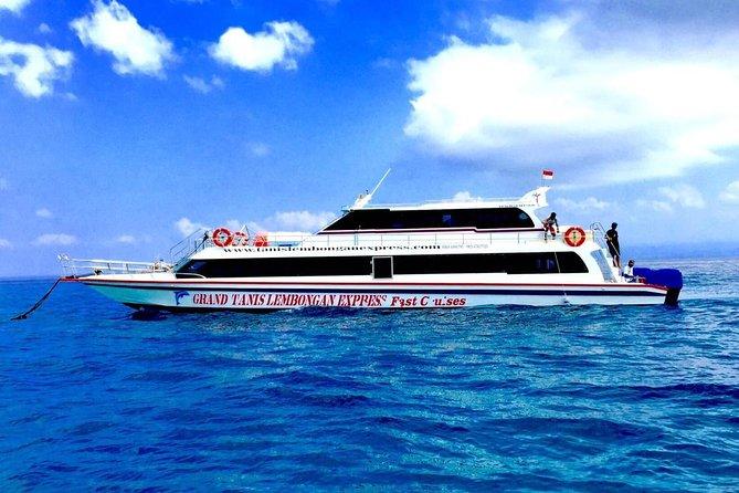 Boat to Nusa Penida