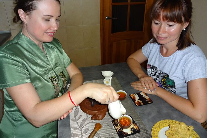 First Tea Ceremony in Greece / master class / degustation of teas and marmalades