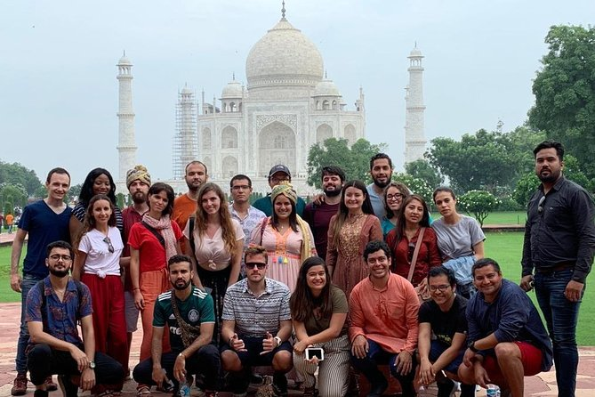 Taj Mahal Same Day Private Tour From Delhi By Car