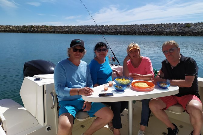 Boat and fishing trips in the Cadiz bay