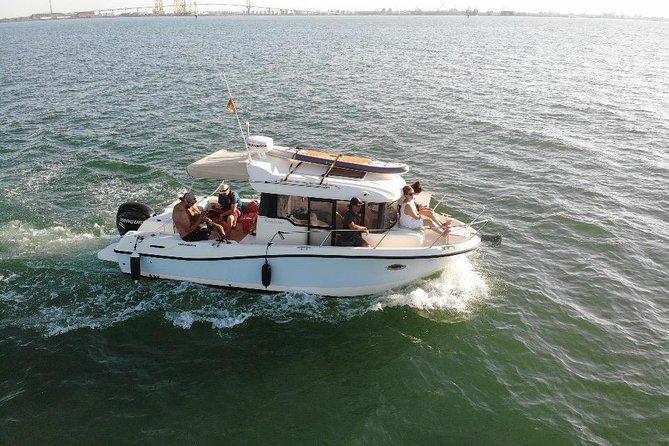 3-hour boat ride through the Bay of Cadiz