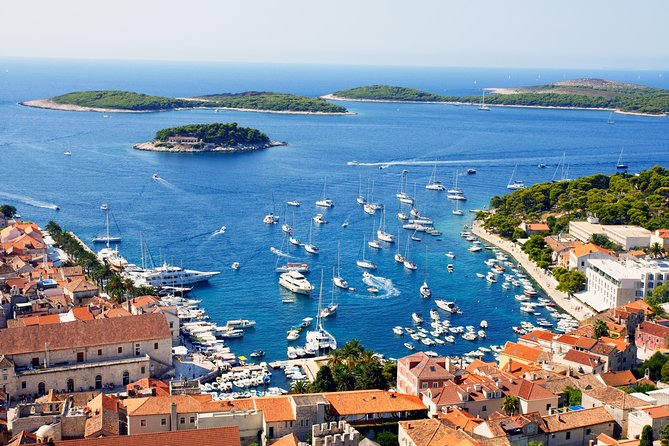 Blue cave & Hvar island hopping full day tour from Omiš