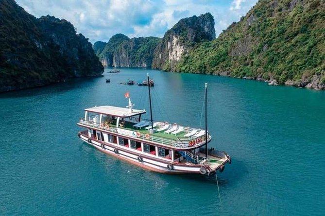 Halong - Lan Ha Bay Day Tour from Hanoi: Cruise, Kayaking, Cave, Cat Ba island