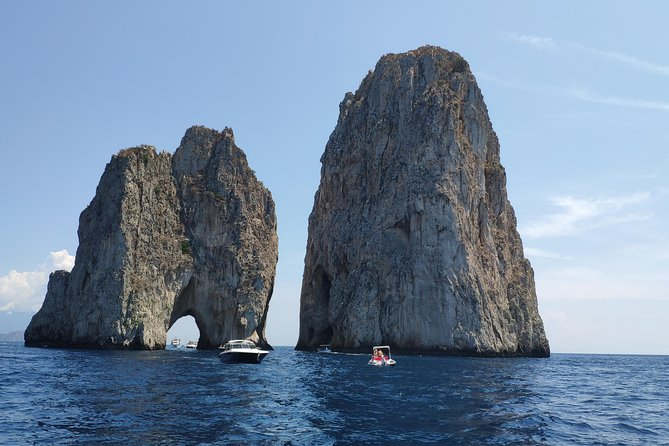 Capri Day Trip From Naples or Sorrento with Blue Grotto Entrance