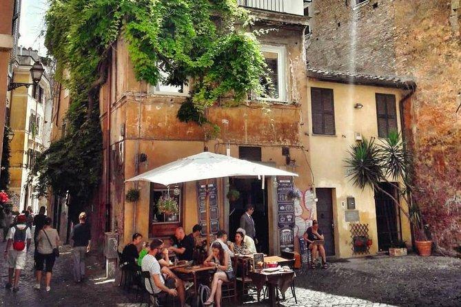 The undergrounds of Trastevere
