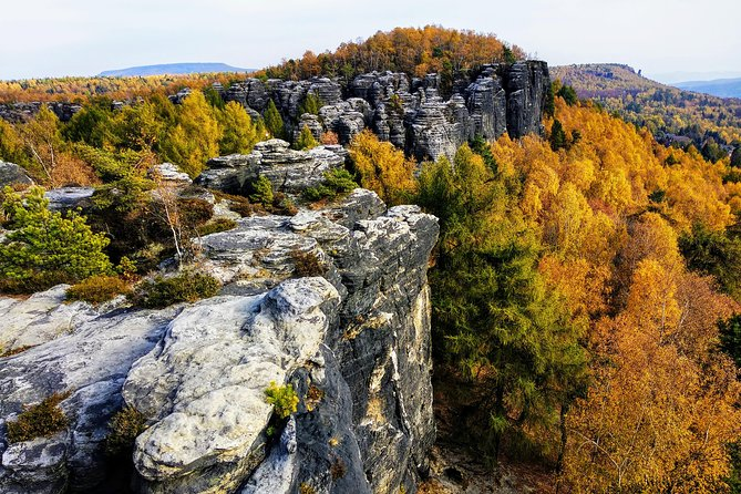 Small group Bohemian Switzerland & Terezín Concentration Camp Tour from Prague
